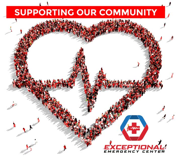 Exceptional ER Supporting Community